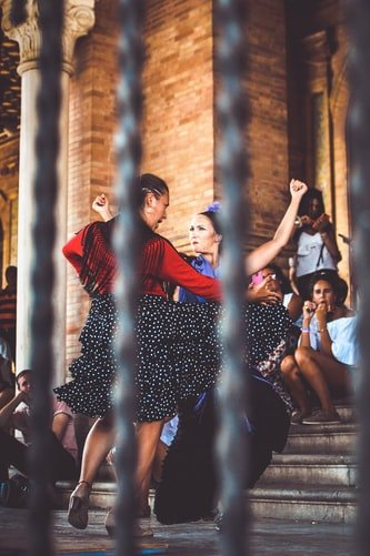 Spain, flamenco dancing